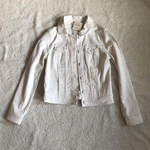 Broome Street x kate spade White Denim Jacket